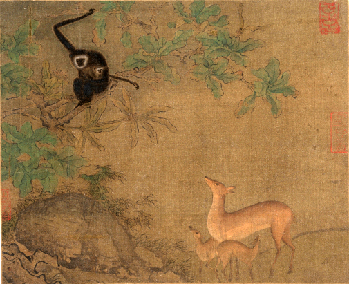 gibbons_and_deer